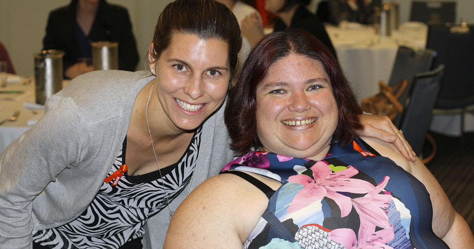 Northcott customers enjoy the Spina Bifida Awareness Week comedy night