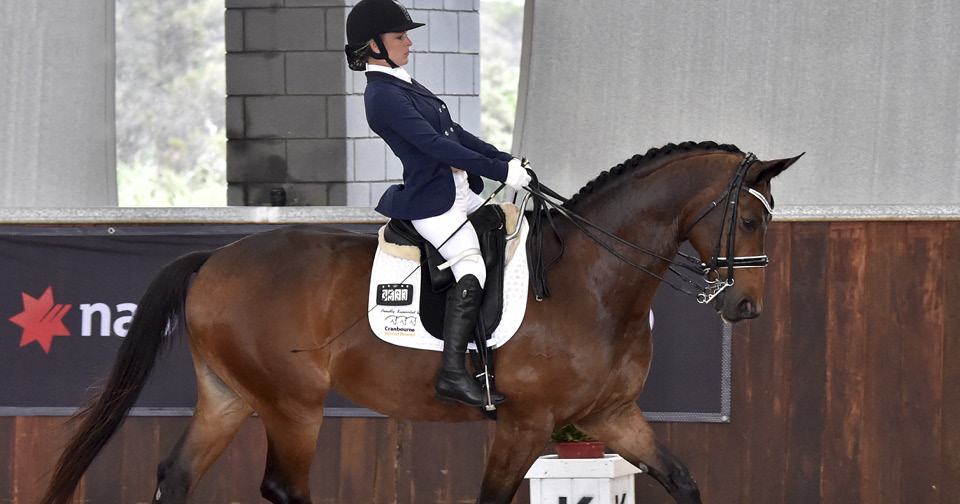 Emma Booth and the horse she'll be riding in Rio, Mongelvangs Zidane